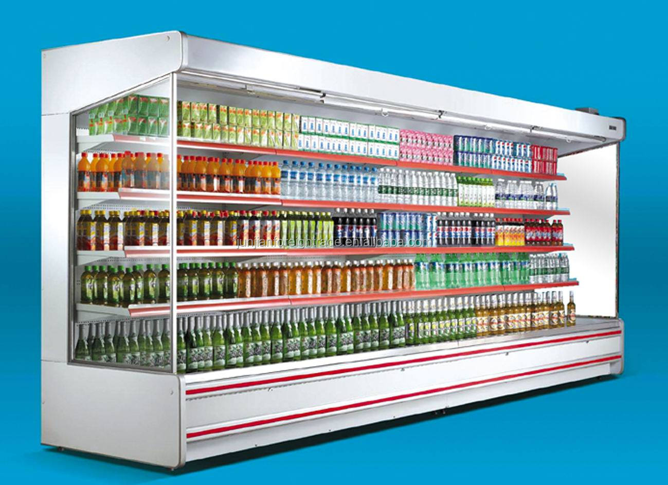 Hg 20f Vertical Supermarket Open Showcase Refrigerator