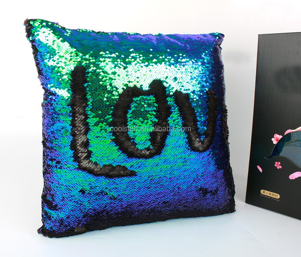Throw Pillows Bulk : Wholesale Mermaid Sequin Pillow /mermaid Pillow Sequin Throw Pillow/wholesale Reversible Sequins ...