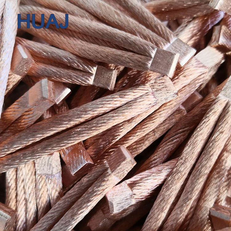 Industrial Wiring Electrical Cable Highly Flexible Copper Litz Wire for Carbon Brushes