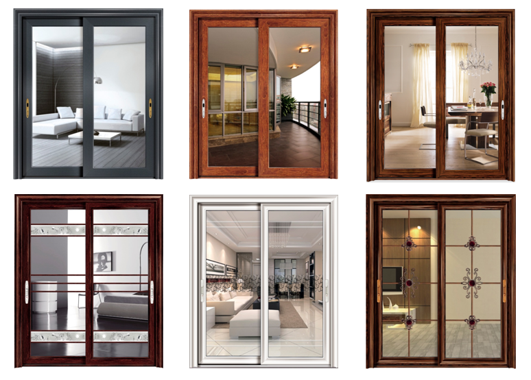 Aluminium doors different types of aluminium doors for Different door designs