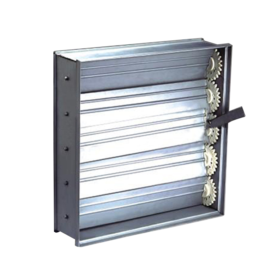 Aluminum opposed blade damper air volume control air louver damper for hvac ventilation accessories