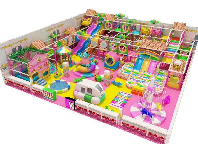 Kids Indoor Playground Set Candyland From Nannan Baby ...