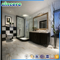 factory price porcelain white shiny floor terrazzo tile