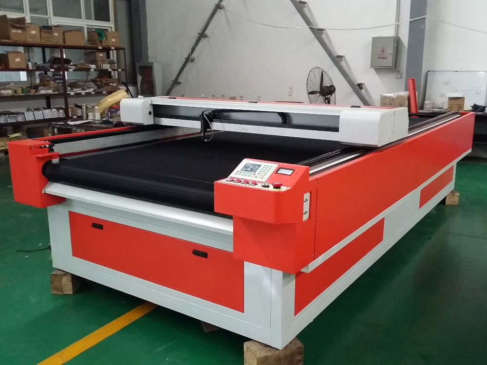 CO2 laser fabric/leather/paper/plastic cutting table single ply cutting/engraving machine 60w 80w 100w 130w