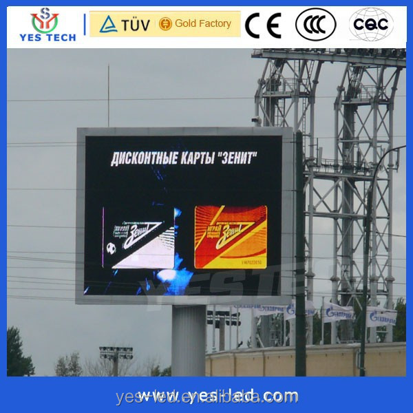 full color outdoor p10 advertising video led display for advertising