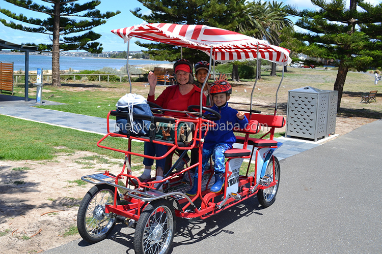 2 Adult Pedal 4 Wheel Bikes For Sale Buy Four Person Surrey