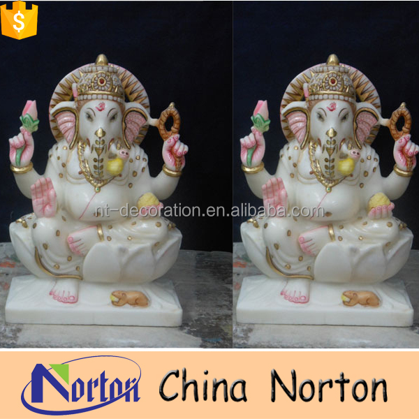 marble small hindu god ganesh statue online for sale NTMS-R047Y