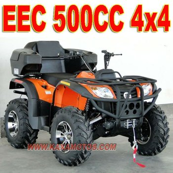 500cc 4x4 Quad Bikes For Sale