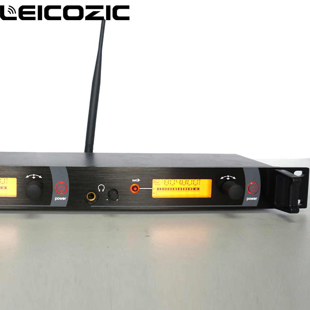 Leicozic BK2050 Transmitter with cable antenna Professional in ear monitor systems stage monitor system twin monitor SR2050 IEM