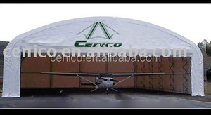 Airplane Hangar, heavy duty storage shelter, warehouse tent