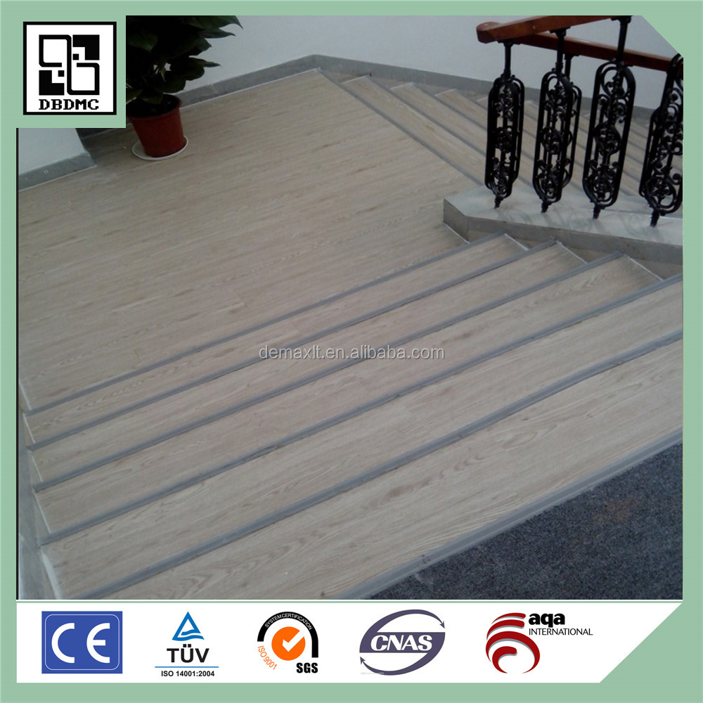 New Style Factory Directly Provide Stairs PVC Flooring