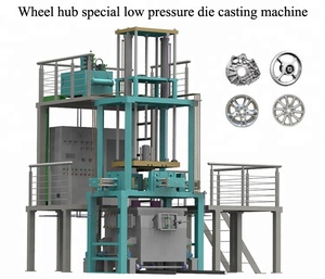 aluminum car rim making machine low pressure die casting machine