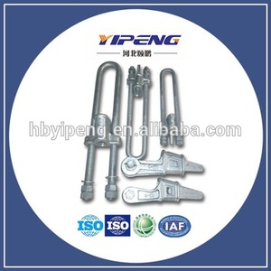 Electric Power Transmission Line Fittings/Pole Clamp/Overhead Cable Clamp