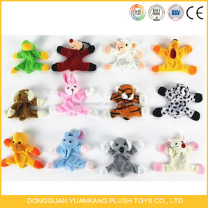 Promotional custom cute mini collection stuffed plush fridge magnet animal toys for sale