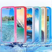 Fashion waterproof silicone tpu case cover for iphone 8 case
