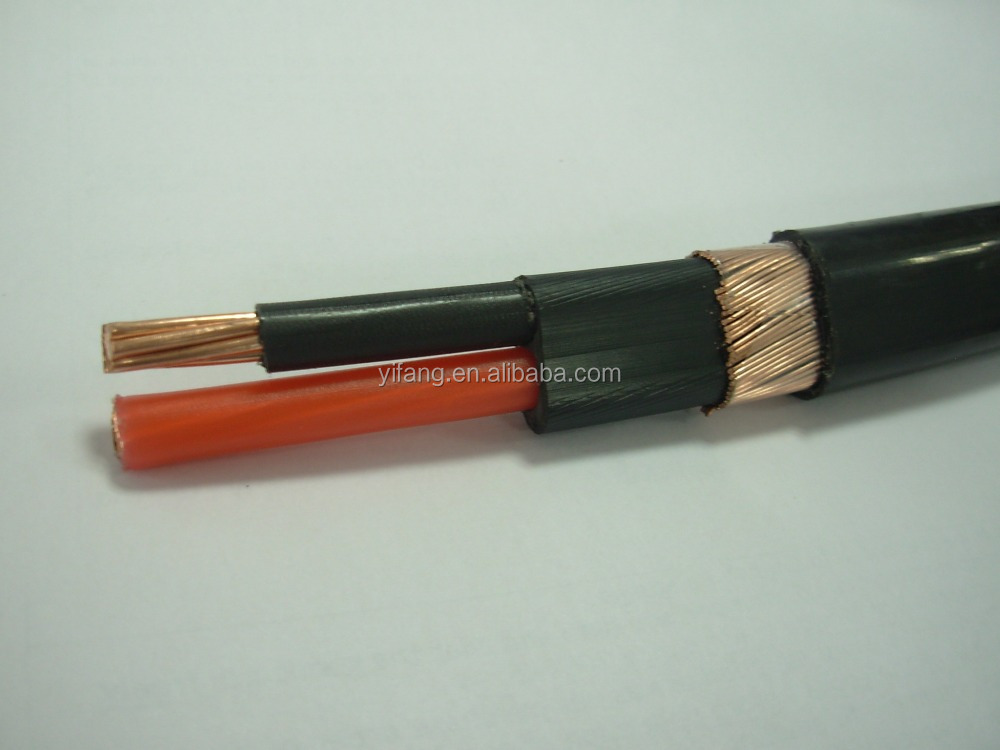 copper wire power coaxial cable