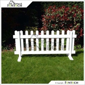 Fentech Uv Proof Widely Used Pvc Portable Fence Panels