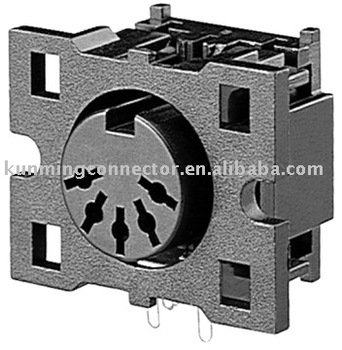 5 Pin Din Connector Tv Din Home Theater Connector Hdc 052sp 01 Iso