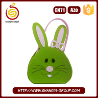 Fancy Easter Decorative Gift Bag with Long Ear Bunny