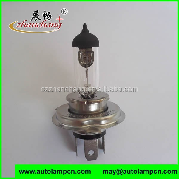 Quartz glass H4 12V130/100W Auto Bulb Clear Color ISO9001 FACTORY