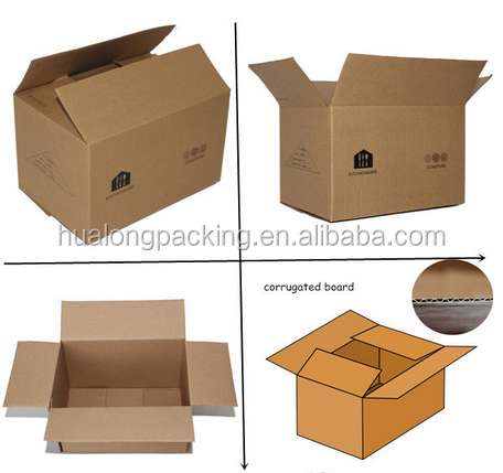 Hot sale customized corrugated cardboard boxes specifications