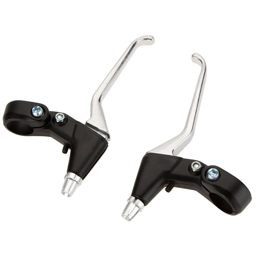 EverTrust(TM) 1 Pair Aluminum Alloy Bicycle Brake Lever Left Right MTB Mountain Bike Bicycle Parts Brake Handles