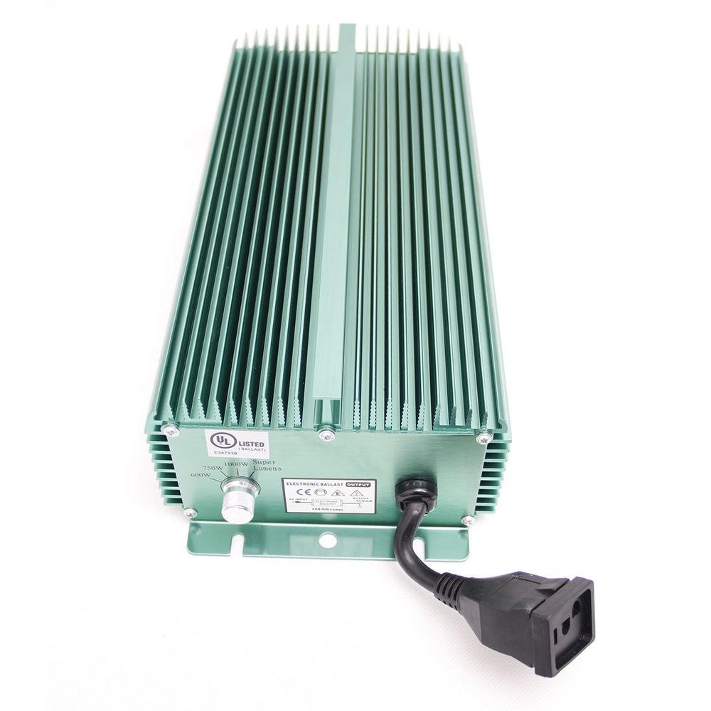 Indoor Hydroponics Grow Light 1000 Watt Digital Ballast ...