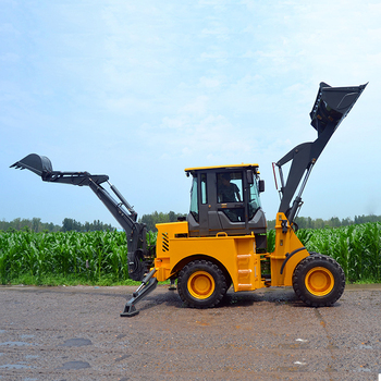 Used Tractor Landscaping Tools Small Garden Loader Backhoe