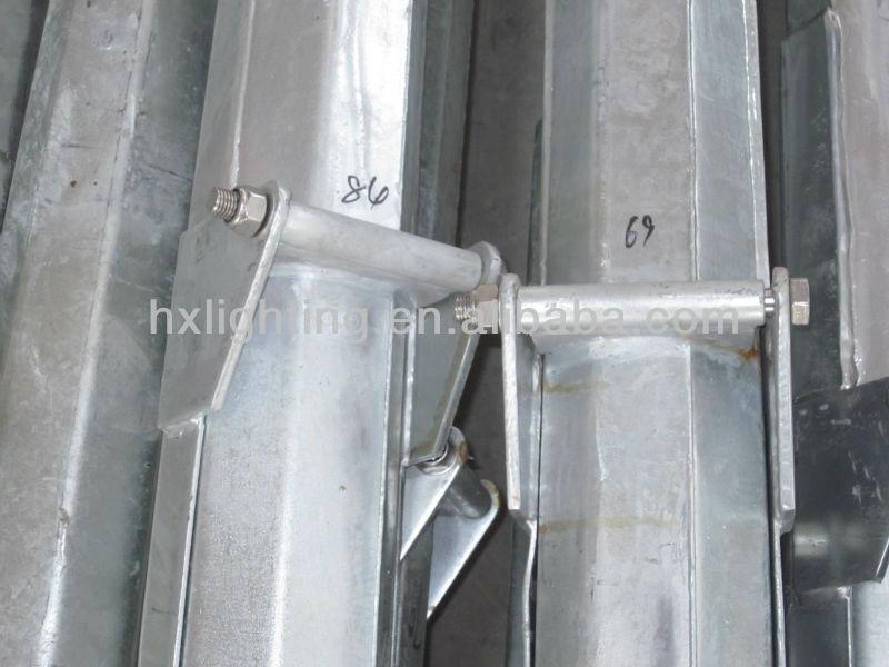 Folding Mid Hinged Octagonal Galvanized Street Steel