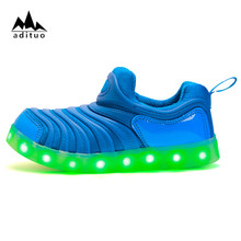 Luminous Kinds Children Shoes Casual With LED Fashion Sport Shoes