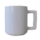 11oz AA+ grade ceramic sublimation mug with square handle in stock 34000pcs at 0.3usd fob qingdao port