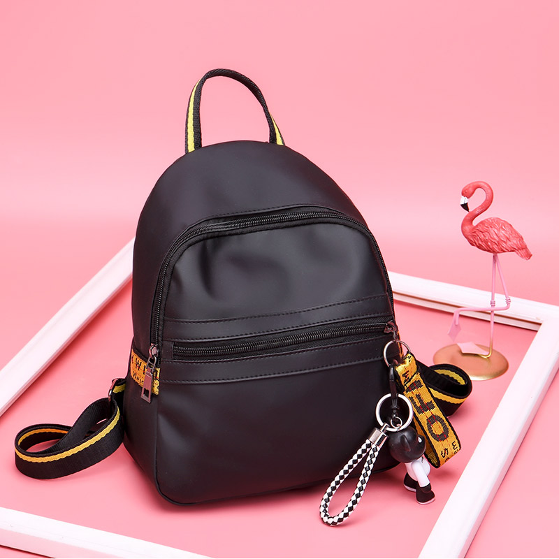 Small waterproof nylon women <strong>backpack</strong> fashion black shoulder back bag preppy style <strong>backpacks</strong> for teenage girls