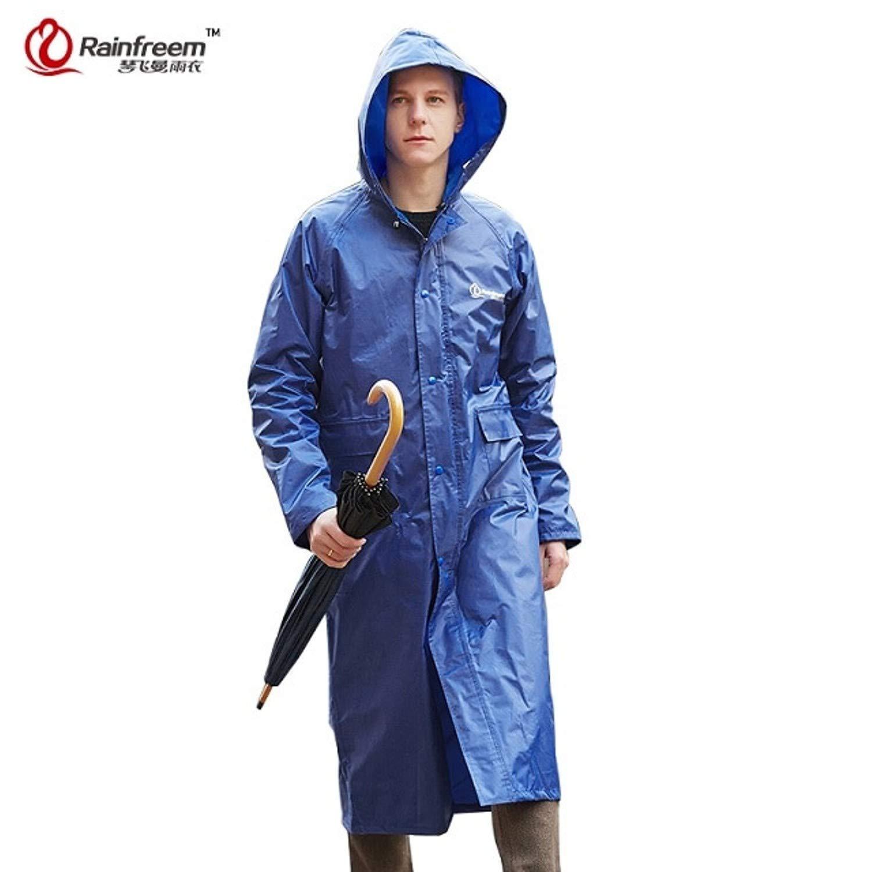 Get Quotations · Impermeable Raincoat Women Men Waterproof Trench Coat  Poncho Double-Layer Rain Coat Women Rainwear 691c3210fe36