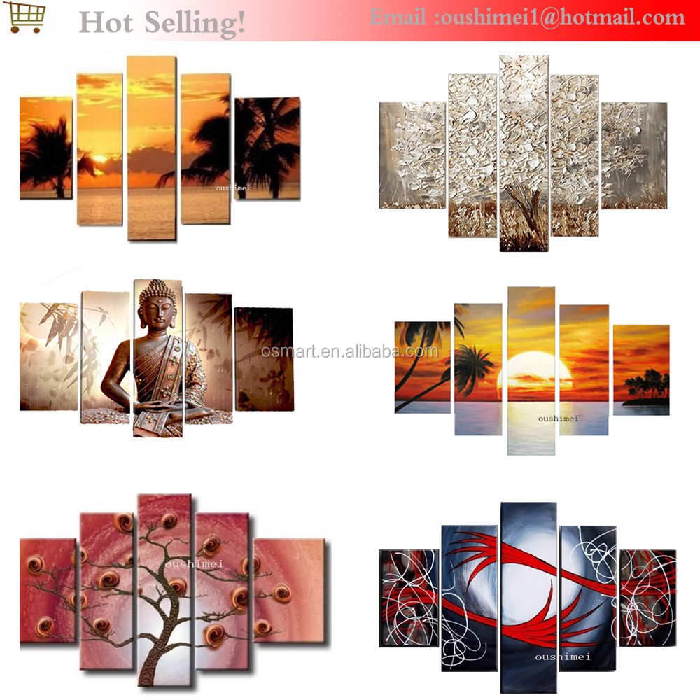 New Painting High Quality Abstract Africa Landscape Oil Painting ...