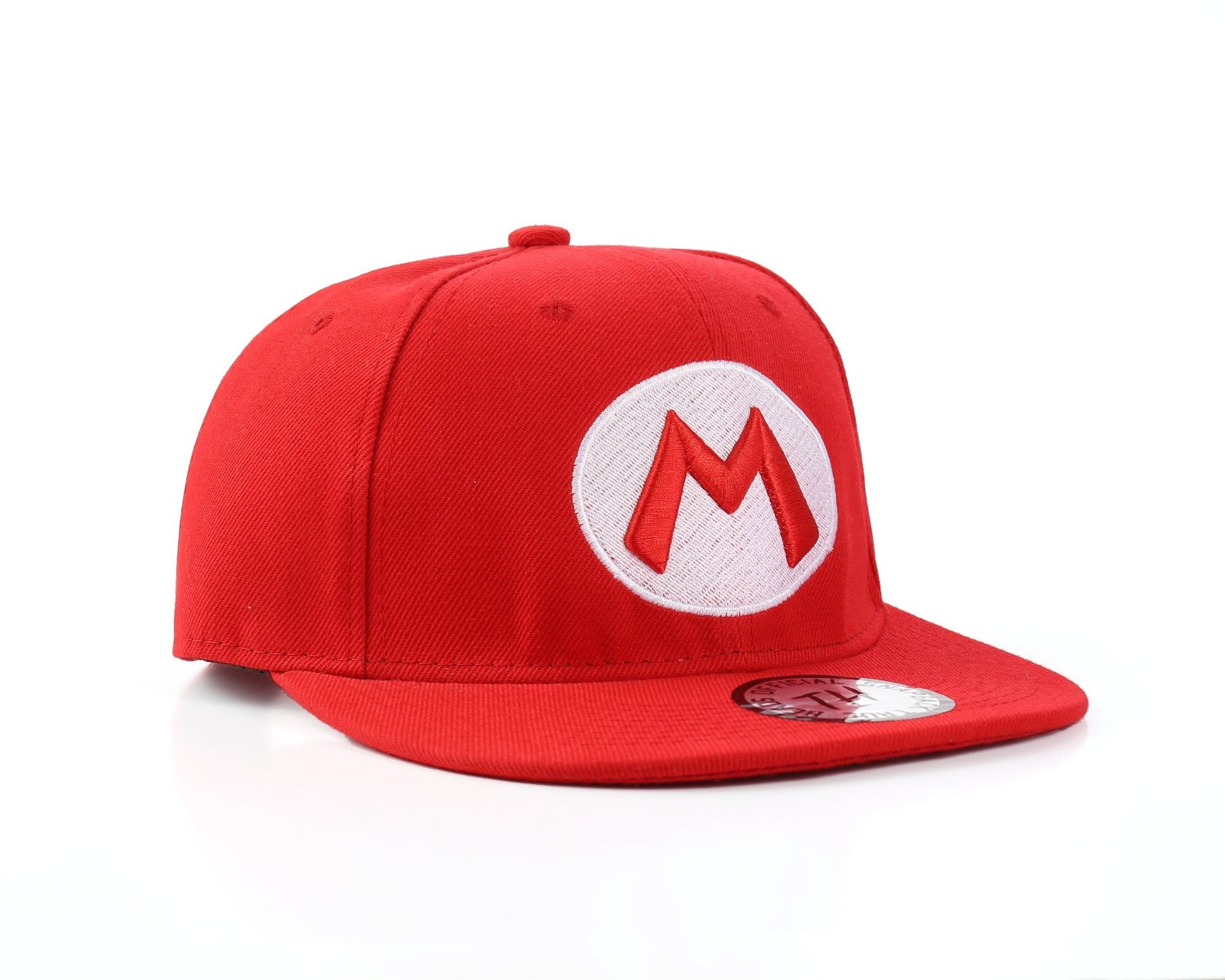 Get Quotations · Nintendo Officially Licensed Super Mario Red Snapback  Baseball Cap 929c0680e16b