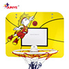 Customized outdoor basketball board and hoop for kids