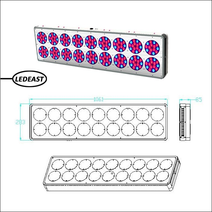Best-selling Led Grow Lights 800 Watts Led Light For Strawberry ...