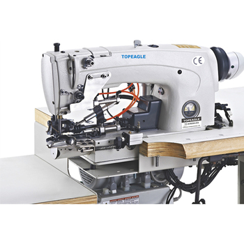 Topeagle Tc400d40 Single Needle Lockstitch Bottom Hemming Jeans Unique Hemming Jeans Sewing Machine