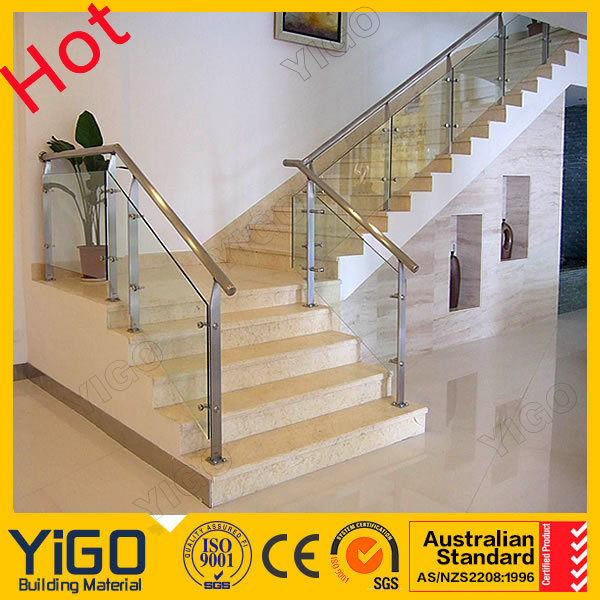 How To Install Glass Railing On Stairs \ Outdoor Stair Rail