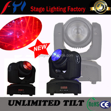 moving head light adj led unlimited tilt 10w moving beam light