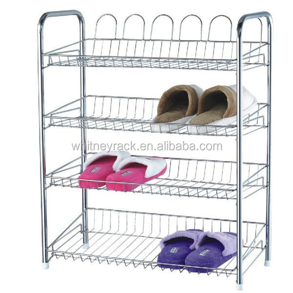 Narrow Cube Shoe Rack,iron Shoe Shelves,living Room General Use Shoe Rack Part 39