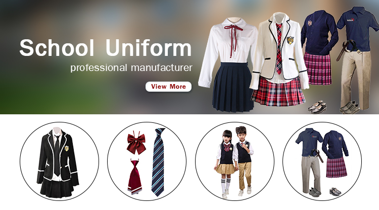 Cotton/Polyester Sport Style Elementary School Uniform