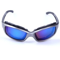 Trendy high level fashion peeks eyewear, colorful frame sun glasses for man