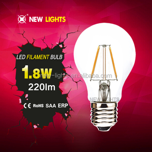 2 years warranty CE RoHS approved A60 2W e17 led light bulb