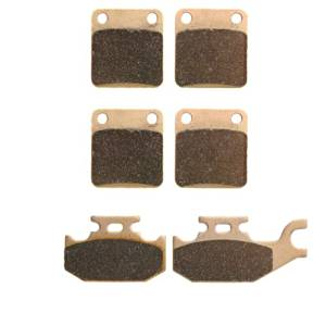 2003-2004 Yamaha Kodiak 450 YFM450 Sintered HH Front & Rear Brake Pads