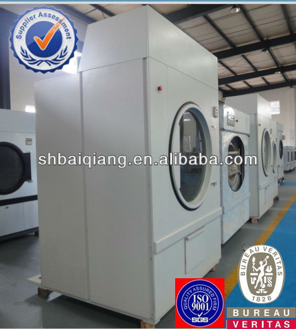 fully automatic industrial tumble dryer for laundry shops and industries