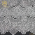 Water soluble polyester guipure lace trim mesh net applique fabrics textiles GAX-51807