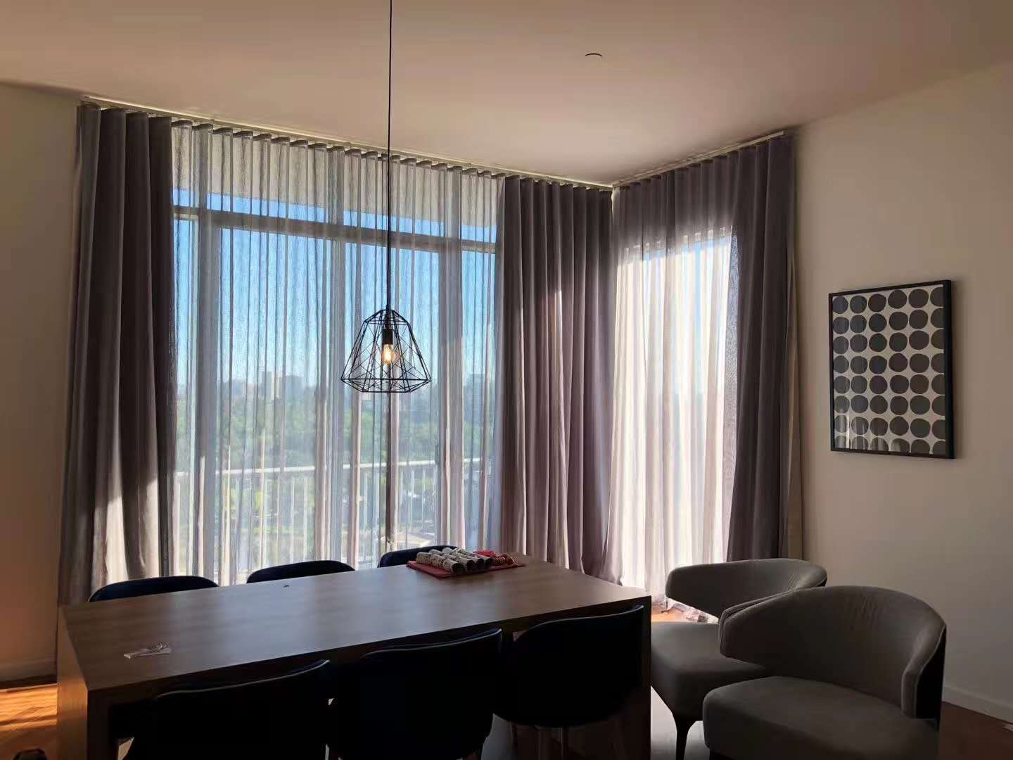 Snake Type Curtain And Drapery Sheer Window Curtains Double Layers Curtains For Window Decoration View Curtains And Drapes Yh Product Details From Guangzhou Yuhong Curtain Materials Co Ltd On Alibaba Com