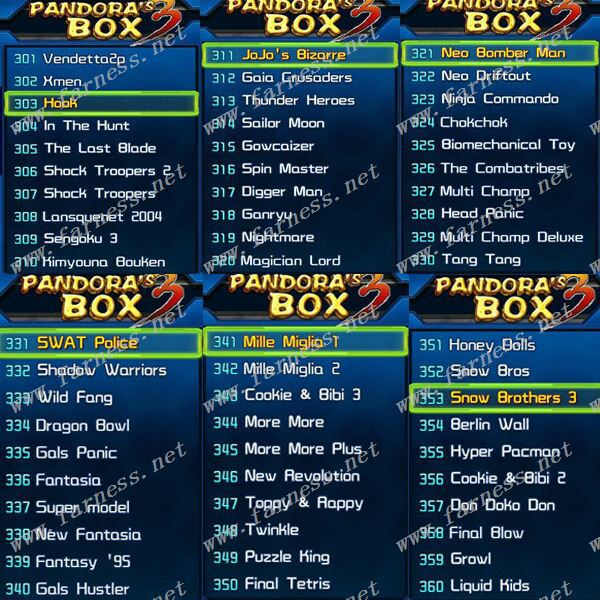 Pandora's Box 3 520 In 1 Game Pcb Type Fighting Arcade Multi Jamma Arcade  Game Board - Buy Pandora's Box 3,Pandora's Box Game 3,Board Game Of