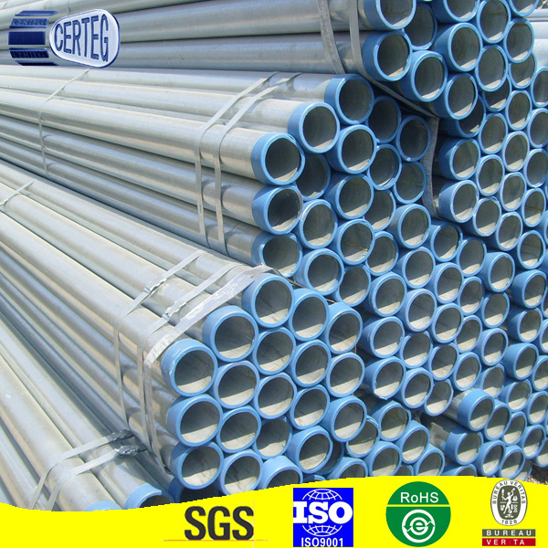 The King of Quantity EN10219 Galvanized Steel Pipe